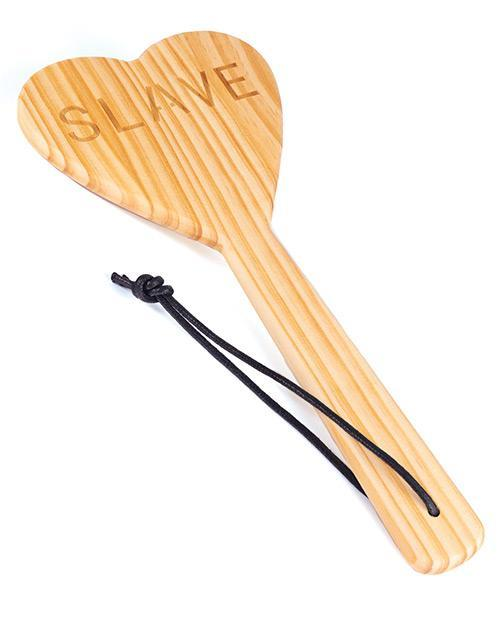 Spartacus Wood Spanking Paddle Heart Shape-sex toys-Spartacus-Nakees