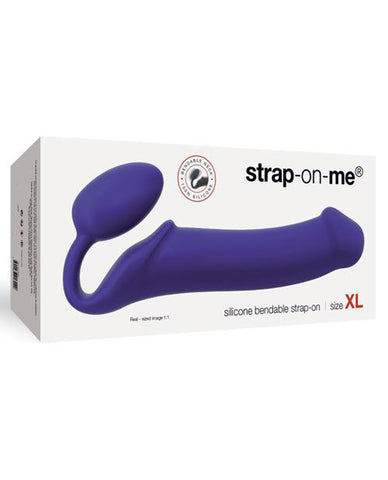 Strap on Me Silicone Bendable Strapless Strap on Xlarge-dildo-Strap-On-Me-purple-Nakees