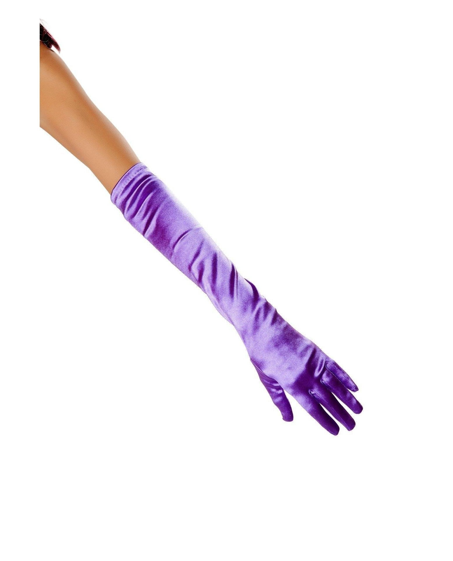 Stretch Satin Gloves Accessories Size One SizeColor BlackNakees