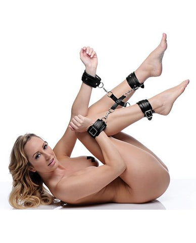 Strict Hogtie Restraint System Bondage Set-sex toys-STRICT-Nakees