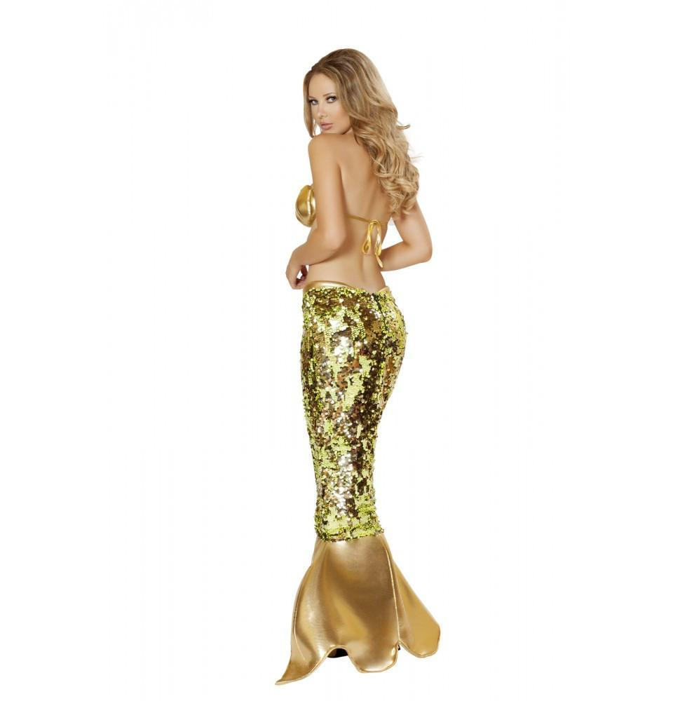 Sultry Sea Siren Costume costumes Color As ShownSize LargeNakees