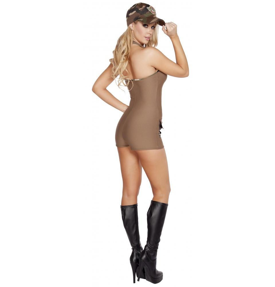 Sultry Soldier costumes Color As ShownSize M/LNakees