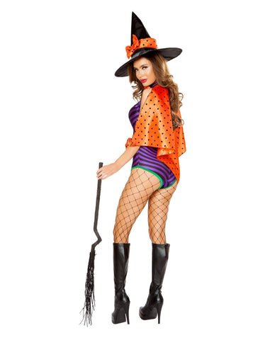 Sweet and Sexy Witch Costume-costumes-Roma Costume-Nakees