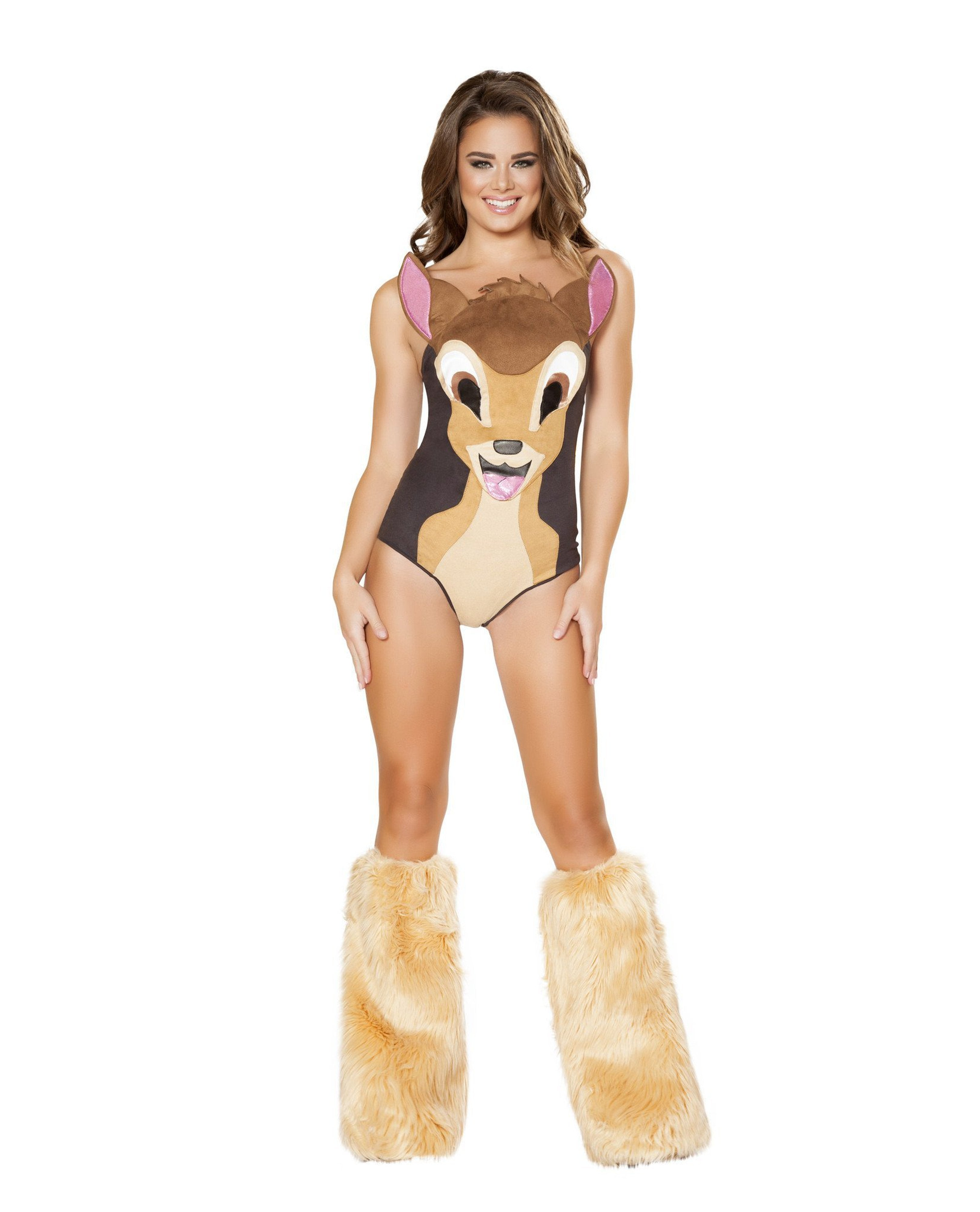Sweet Deer Costume costumes Size LargeColor BrownNakees