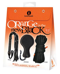 The 9's Orange is the New Black Kit #3 - 50 Lashes Slave-sex toys-The 9s-Nakees