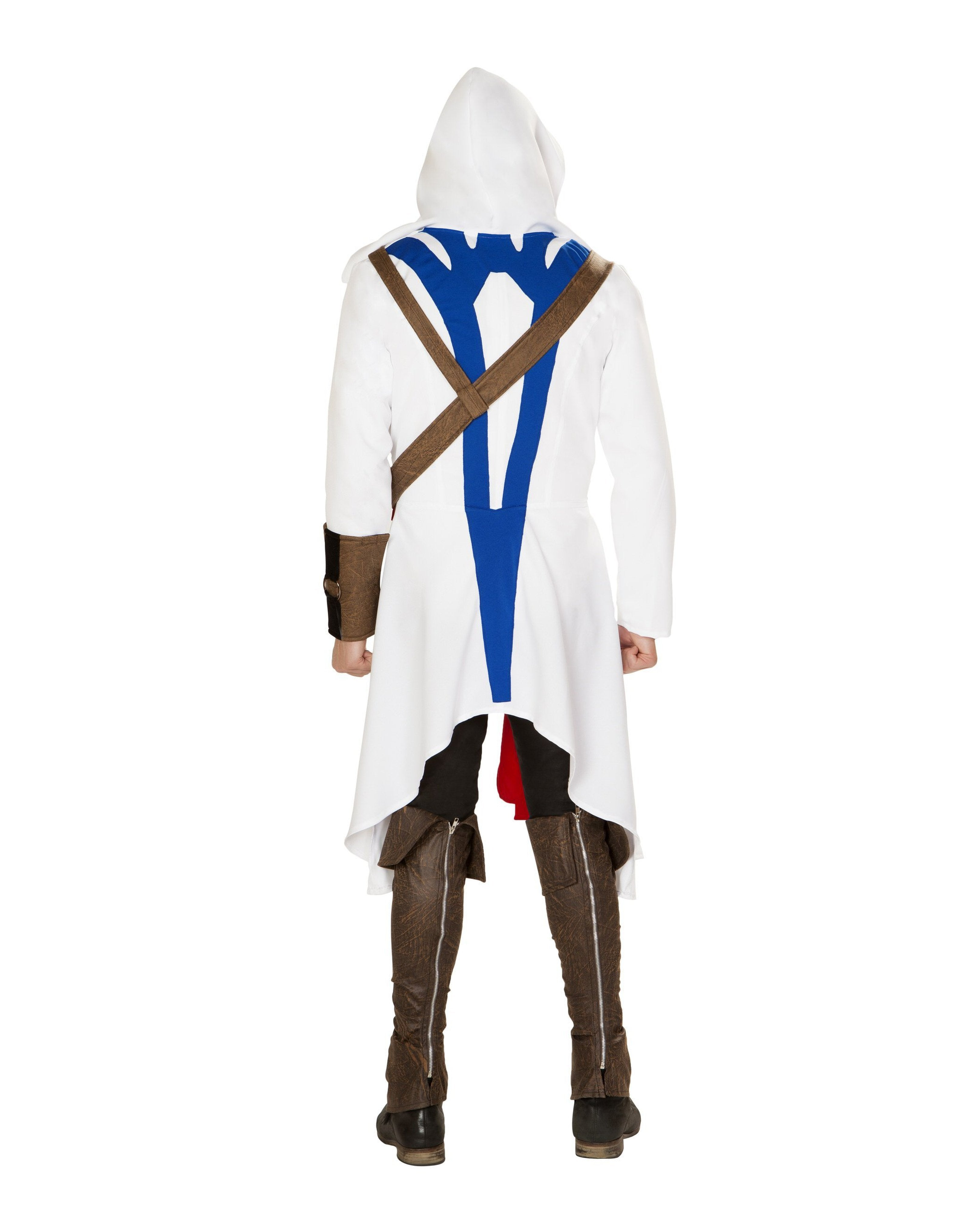 The Assassins Warrior costumes Size SmallColor White/Blue/RedNakees