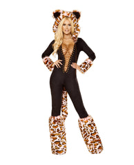 The Pink Leopard costumes Size SmallColor Black/PinkNakees