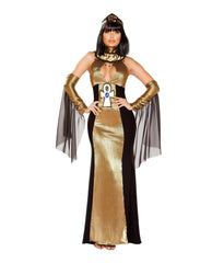 The Ruler of Egypt costumes Size SmallColor Black/GoldNakees