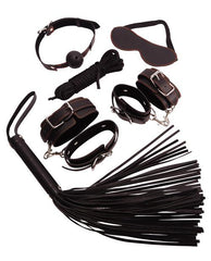 Ultimate Bondage Set sex toys color blackNakees
