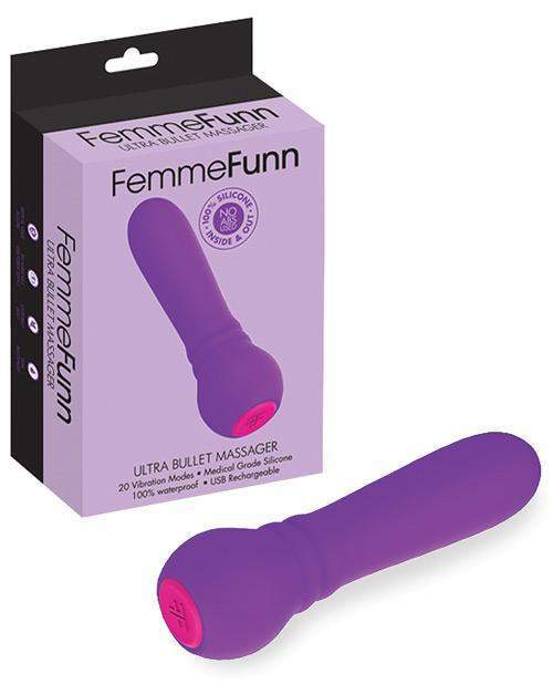Ultra Bullet Massager Mini Vibrator sex toys color purple  Nakees
