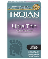 Ultra Thin Condoms-essentials-Trojan-Nakees