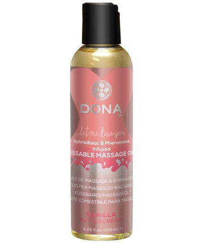 Vanilla Kissable Massage Oil-essentials-Dona-vanilla-Nakees
