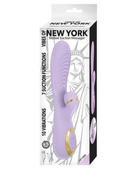 Vibes of New York Ribbed Suction Massager-rabbit vibrator-Novelties by Nasswalk/Nasstoys-Nakees