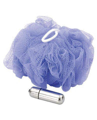 Vibrating Mesh Sponge-women-Sex in the Shower-purple-Nakees