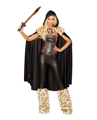 War Hero Costume-costumes-Roma Costume-Small-Black/Brown-Nakees