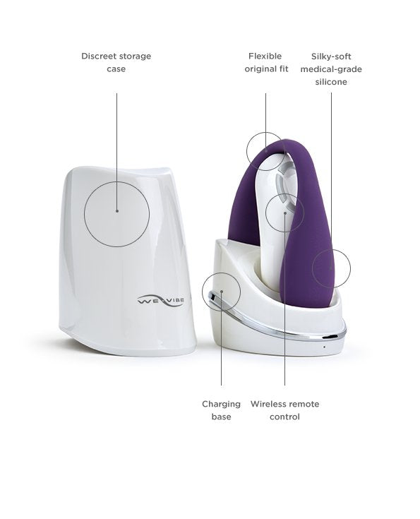 We-Vibe Classic-couples-We-Vibe-purple-rechargeable-Nakees