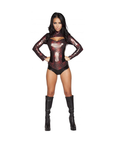 Naughty Ninja costumes Color Black/RedSize LargeNakees