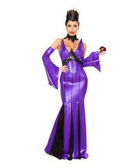 Wicked Queen costumes Size SmallColor Purple/BlackNakees