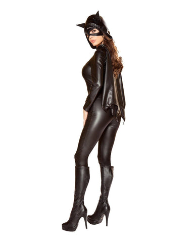 Woman Bat Hero Costume-Costumes-Roma Costume-Nakees