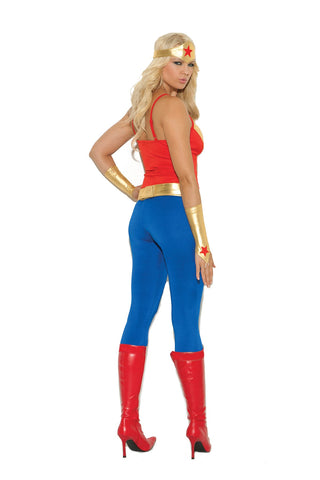 Wonder Superhero Woman Costume-costumes-Elegant Moments-Nakees