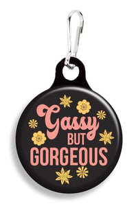 Gassy But Gorgeous Collar Charm