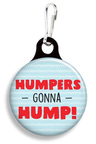 Humpers Gonna Hump Collar Charm