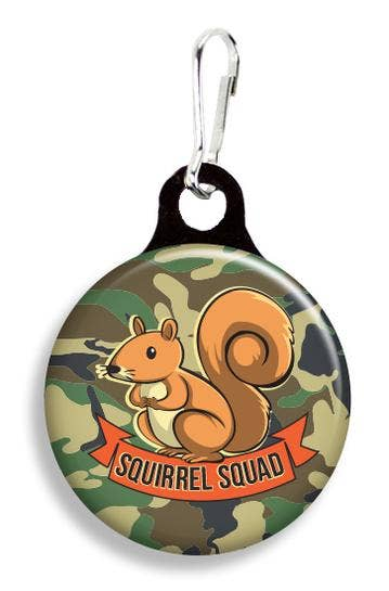 Squirrel Squad Collar Charm
