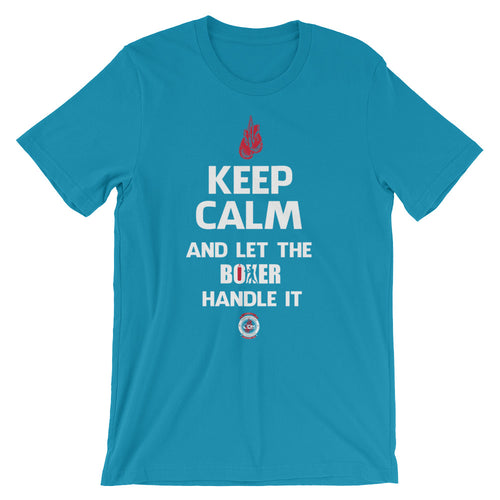 Keep Calm - Unisex short sleeve t-shirt