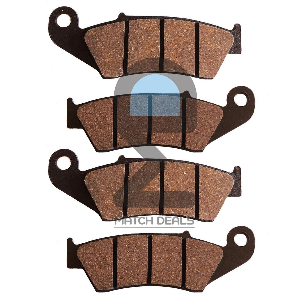 FRONT BRAKE PADS FOR HONDA TRX450ER 2006-2014