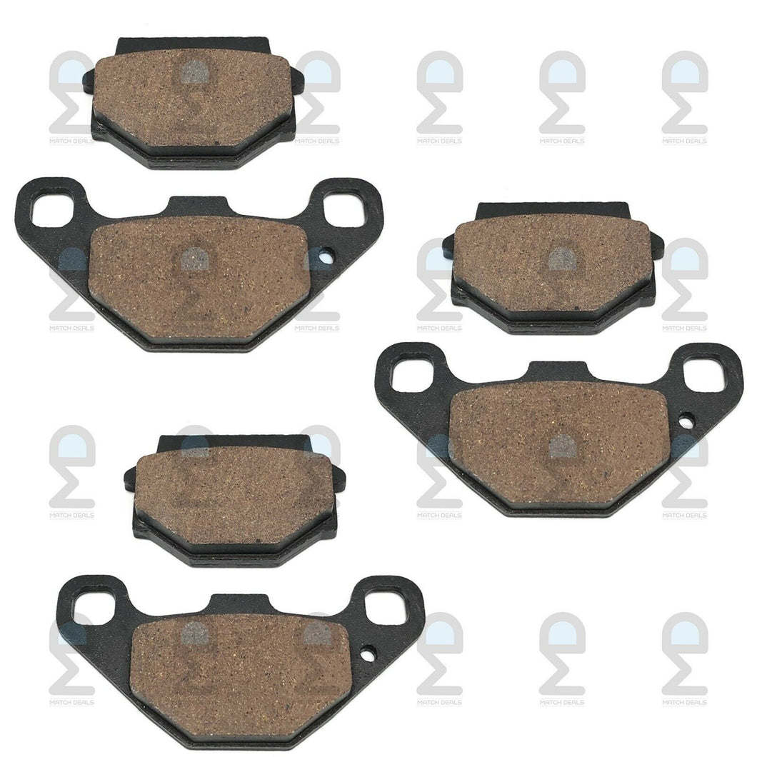 FRONT REAR BRAKE PADS FOR CAN-AM DS 90 X 2008-2019