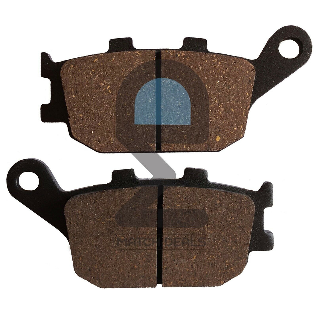 REAR BRAKE PADS FOR HONDA SHADOW ACE 1100 TOURER VT1100T 1998-2001