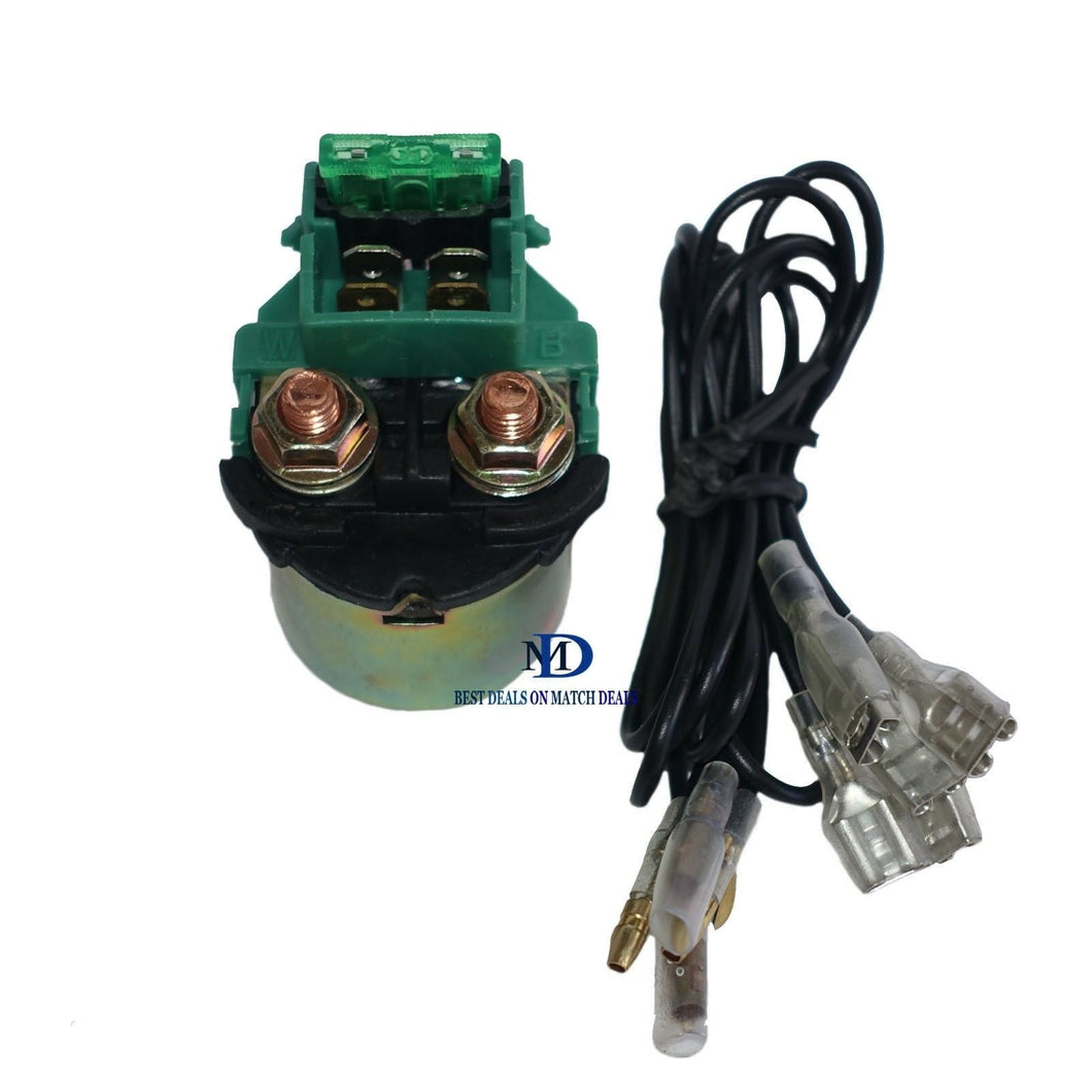 STARTER RELAY SOLENOID FOR HONDA 35850-MB0-007 35850-425-007 REPLACEMENT