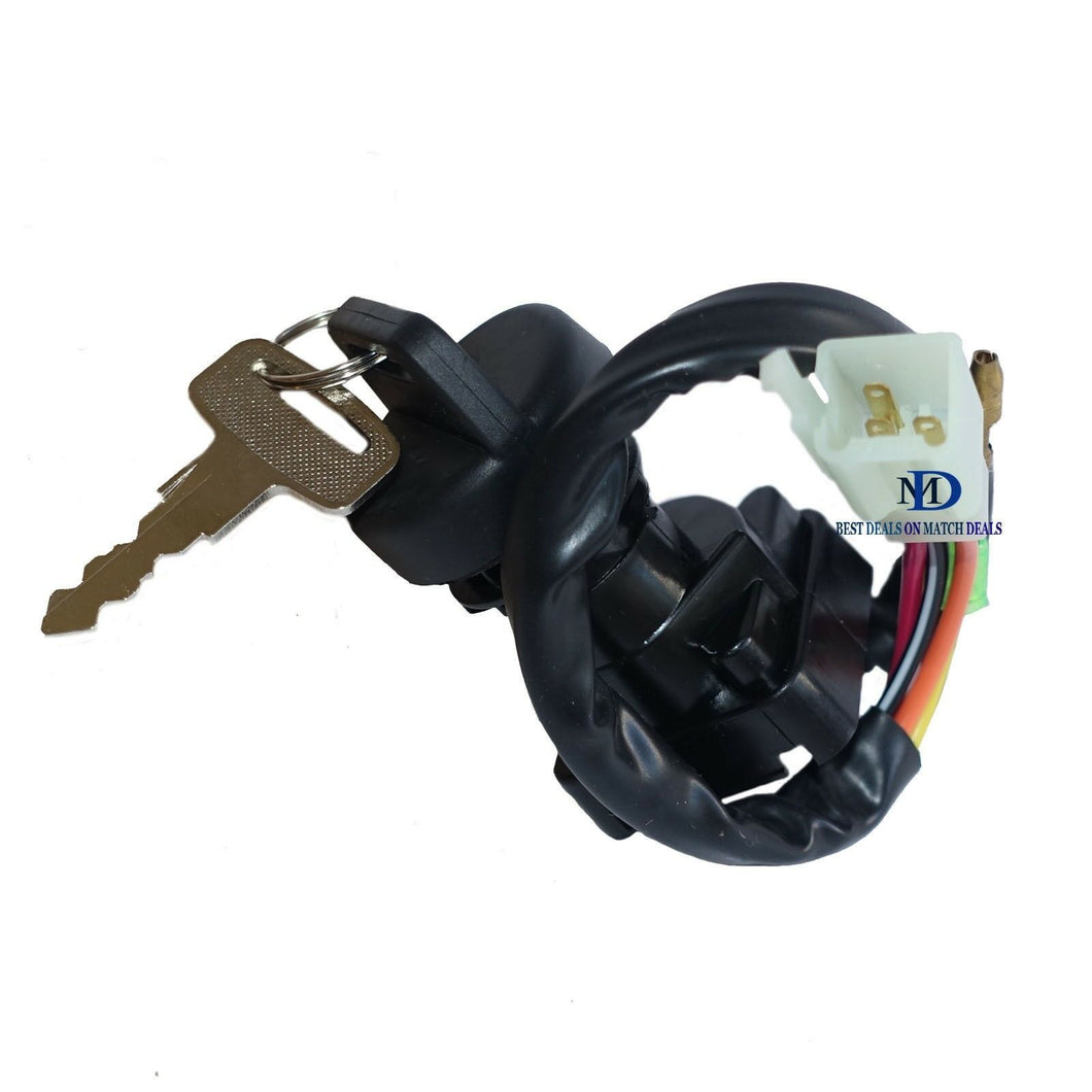IGNITION KEY SWITCH  FOR SUZUKI QUADSPORT 80 LT80 1987-2006