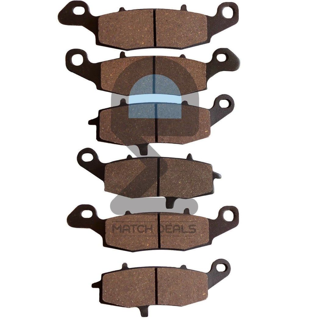 FRONT REAR BRAKE PADS FOR KAWASAKI VULCAN 1700 CLASSIC VN1700 2009-2013