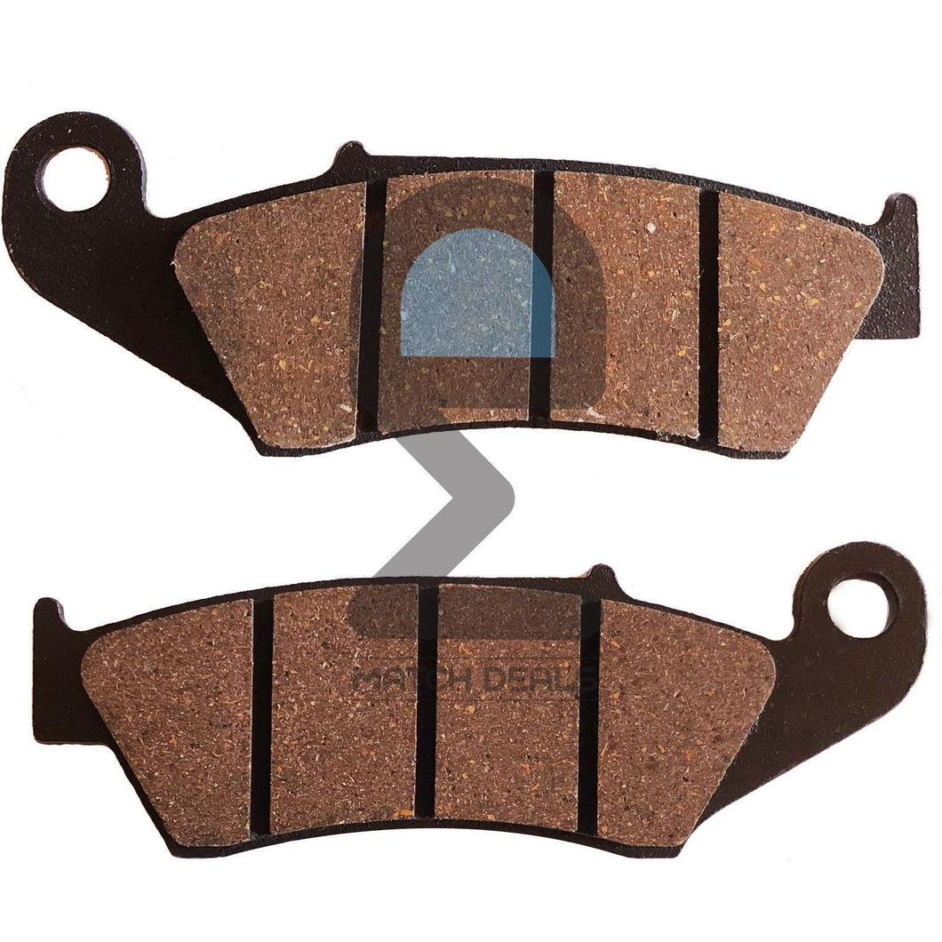 FRONT BRAKE PADS FOR HONDA CR125R 1995-2007 / CRE125 1995-2001 / XR125SM 2004