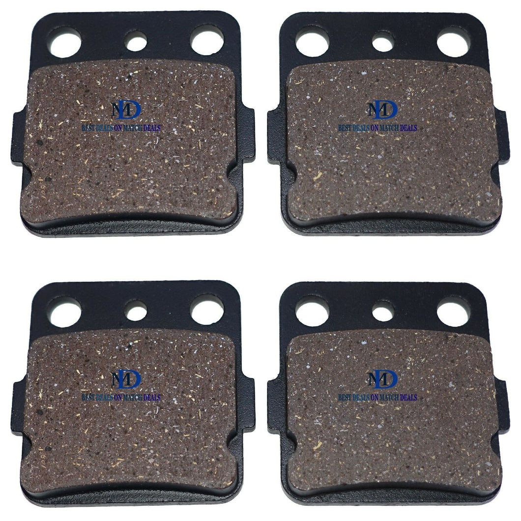 FRONT BRAKE PADS FOR YAMAHA RAPTOR 350 YFM350R 2005-2013 / SE