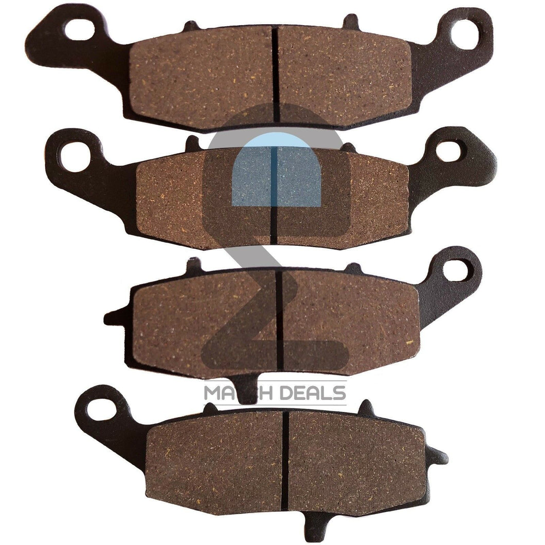 FRONT REAR BRAKE PADS FOR KAWASAKI VULCAN 900 CUSTOM VN900 2007-2017