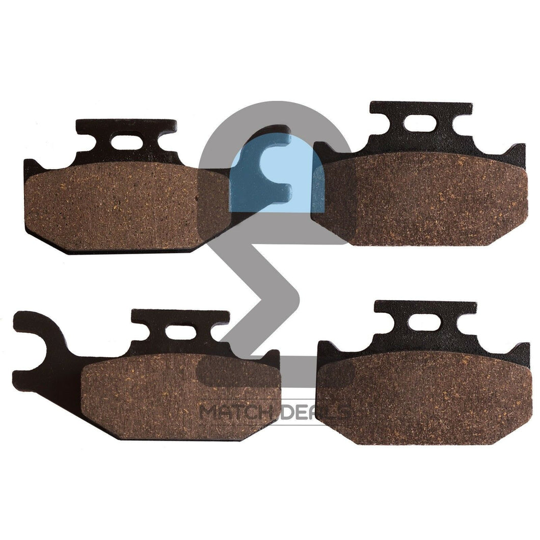 FRONT BRAKE PADS FOR SUZUKI KING QUAD 500 LT-A500XP 2009-2017 / LT-A500XPC 2017