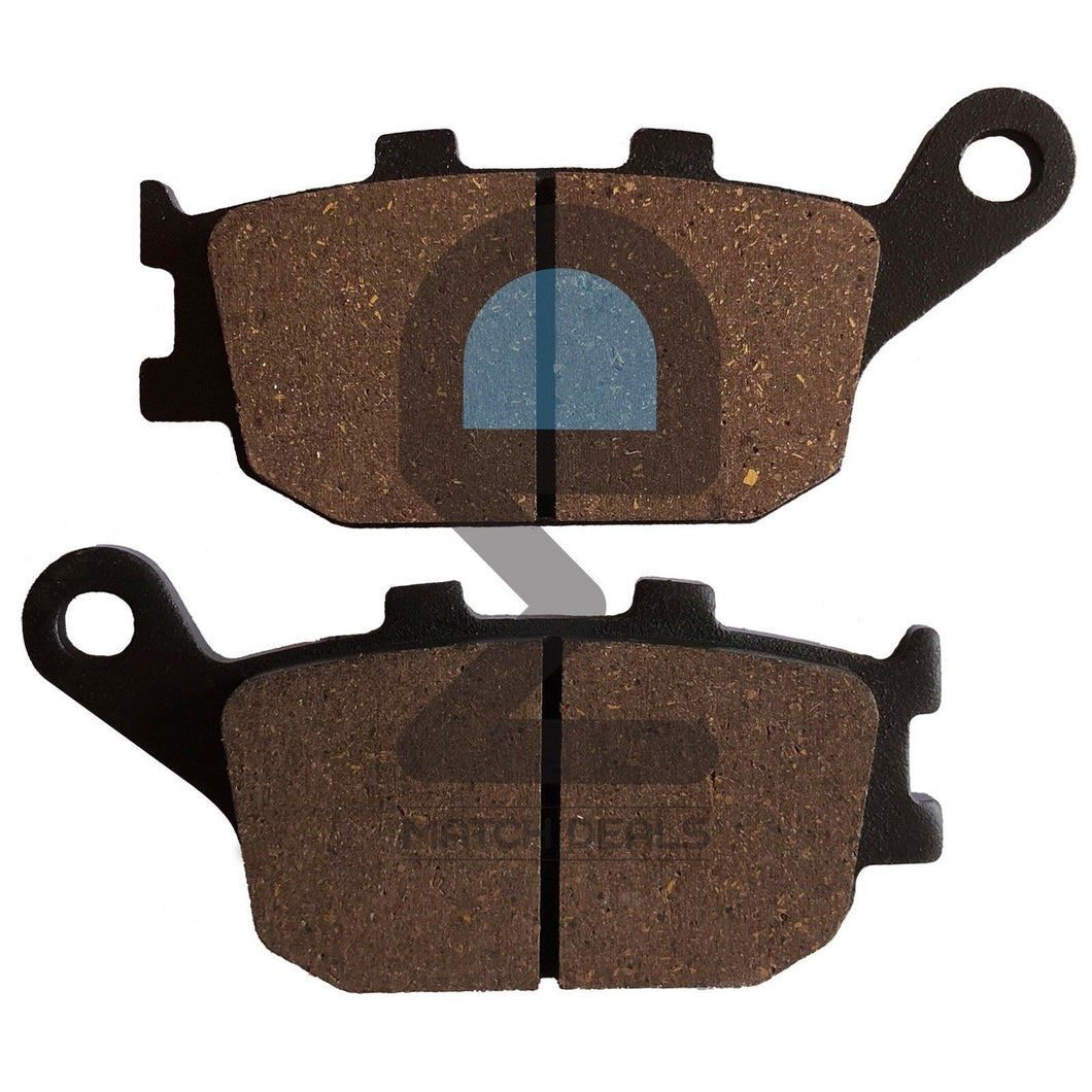 REAR BRAKE PADS FOR YAMAHA R6S YZF-R6S YZFR6S 2006-2009 / FZ8 FZ800 2011-2013