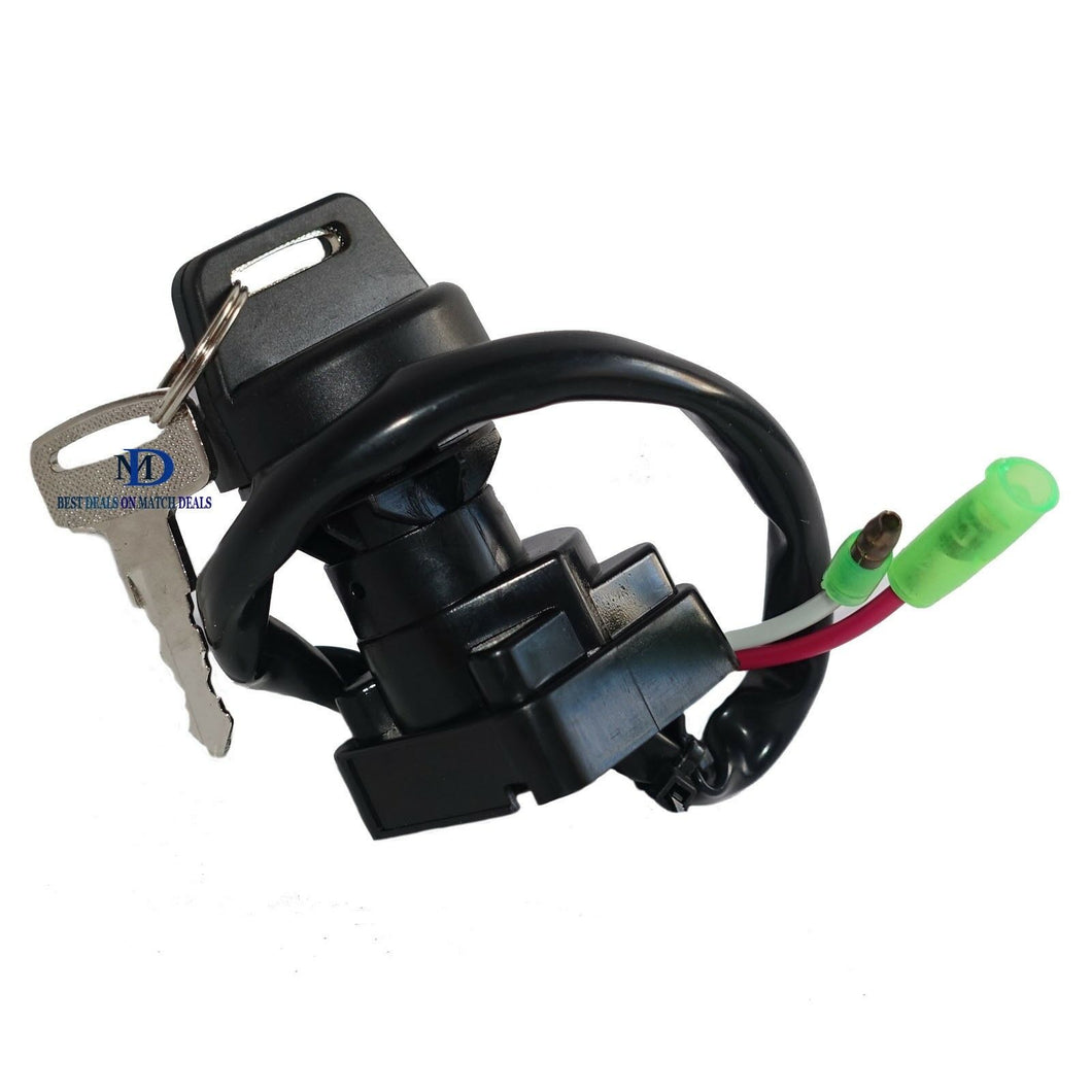 IGNITION KEY SWITCH  FOR KAWASAKI 27005-1192 27005-1186 REPLACEMENT
