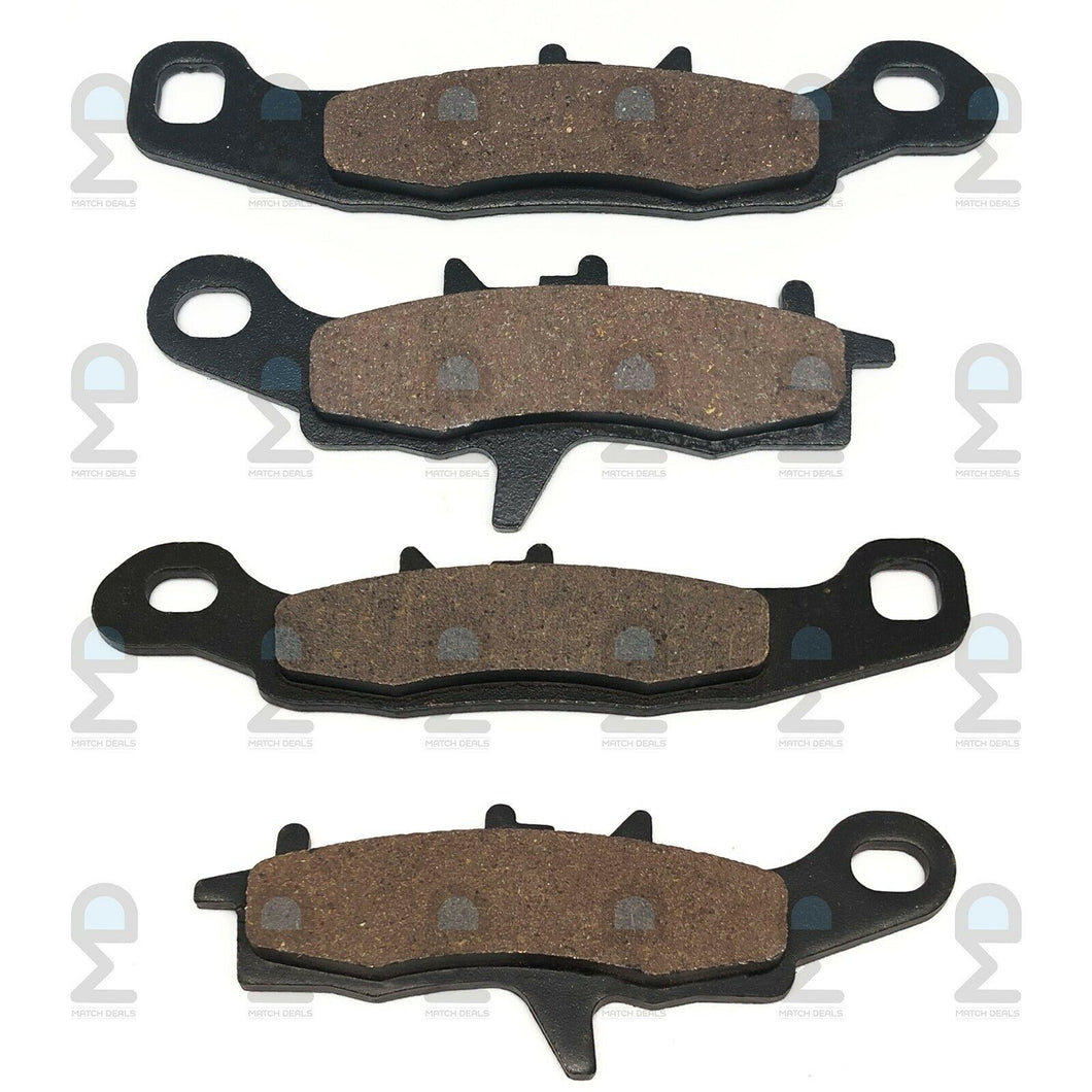 FRONT BRAKE PADS FOR KAWASAKI BRUTE FORCE 650 4X4 KVF650 2005-2013 / REALTREE