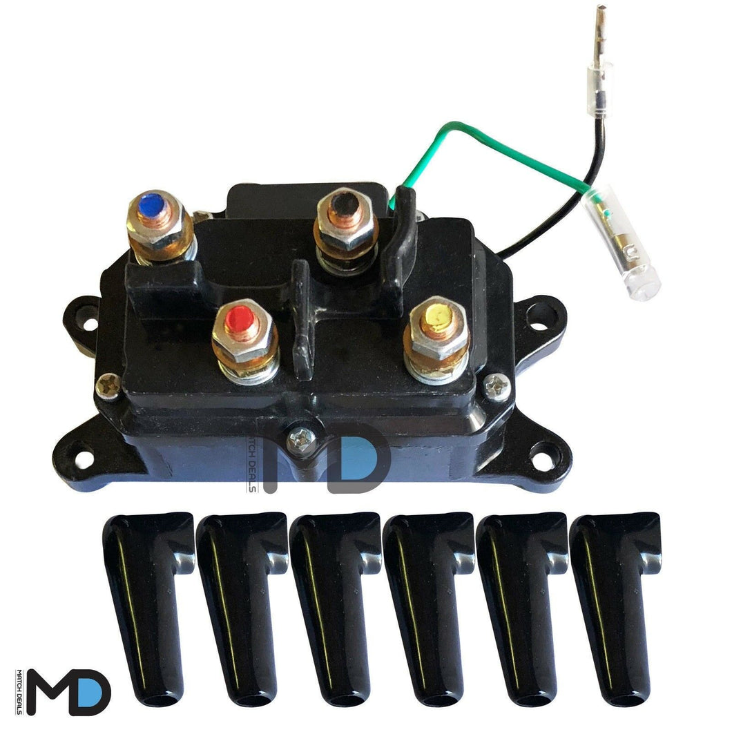 WINCH SOLENOID RELAY FOR CAN-AM OUTLANDER 650 2006-2016 2019 / EFI XT XMR DPS