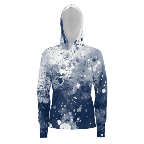 Women's Pull Over Hoodie | Storm - Wardrobe Architect