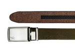 Unisex Cork Belt | Olive/Coffee