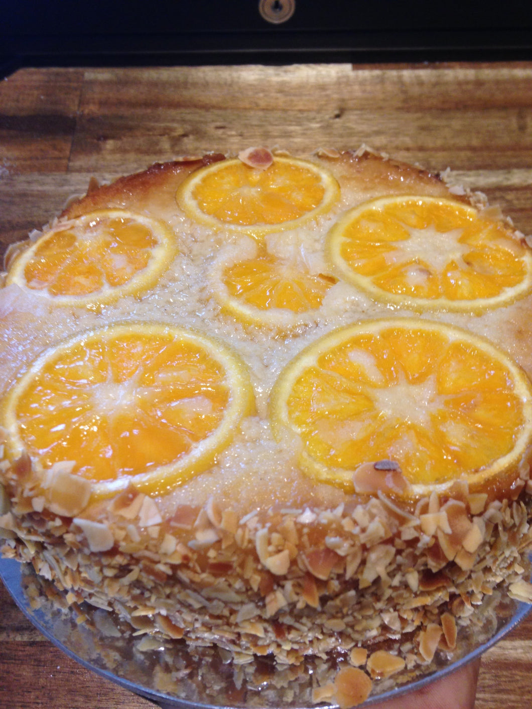 Almond and Orange Sponge