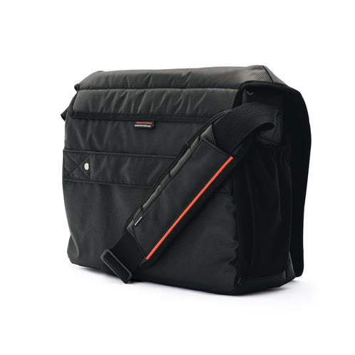 Stealth Relay Messenger Bag, Black