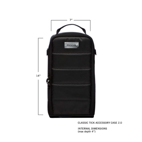 Classic Tick Accessory Case 2.0, Black