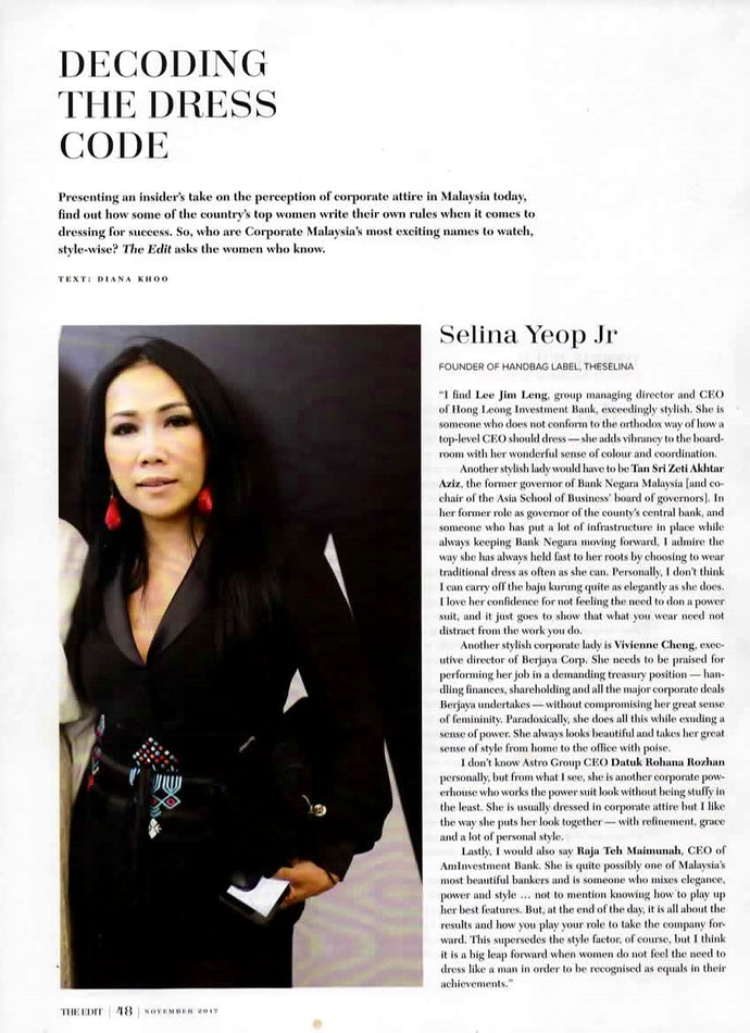 Decoding The Dress Code TheEdit by TheEdge