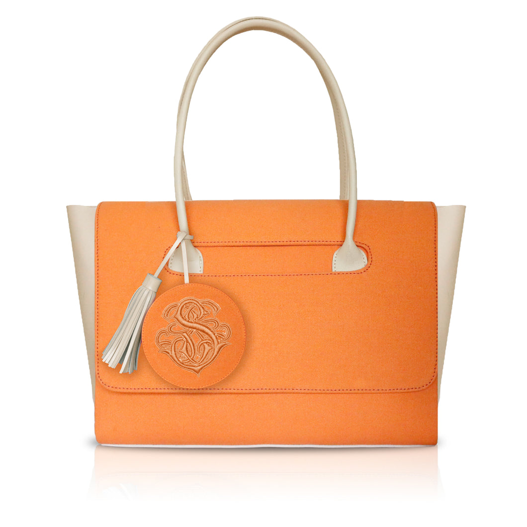 Carry All Canvas Orange