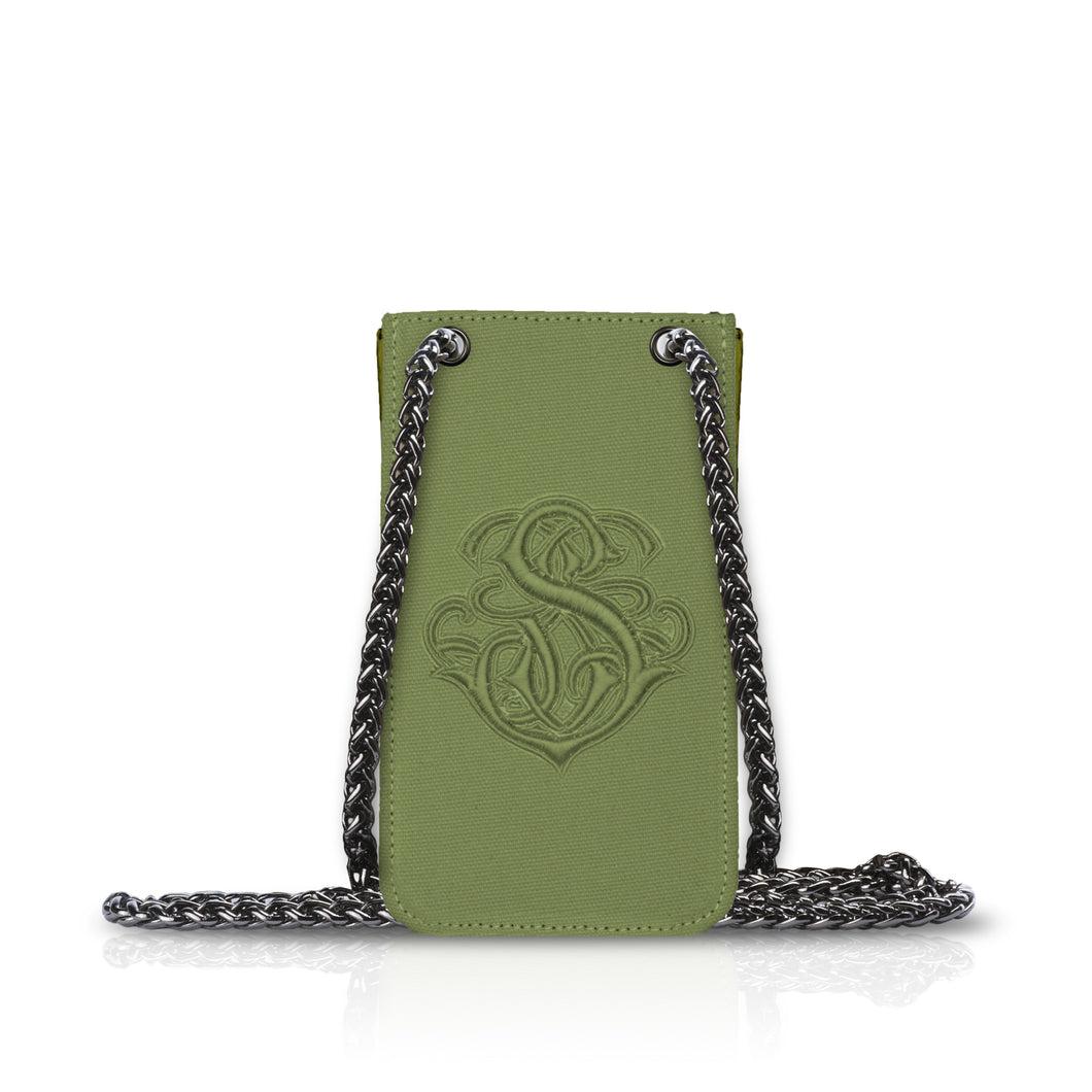 Phone Pouch Green